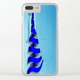Ribbons and Bows for Christmas Clear iPhone Case