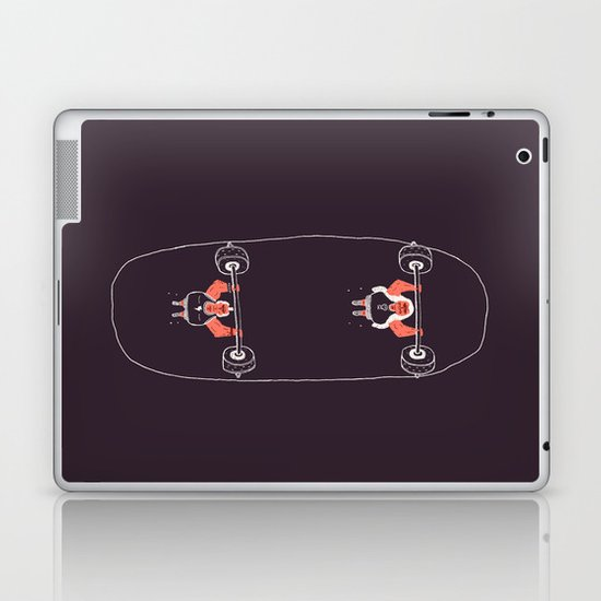 Heavyweight Skateboarding Laptop & iPad Skin
