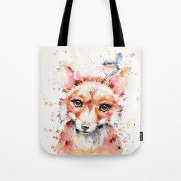 Little Fox Tote Bag