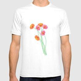 Garden flowers T-shirt