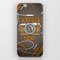 Express iPhone & iPod Skin