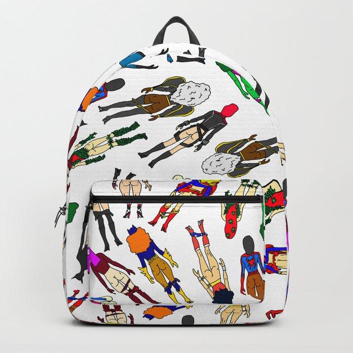 Superhero Butts - Girls LV Backpack