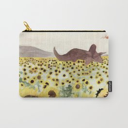Cretaceous Period Sunflower Field Carry-All Pouch