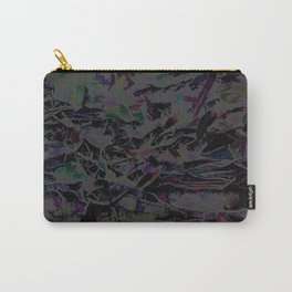 Flora Celeste Magnetite Leaves Carry-All Pouch