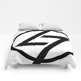 L7 Logo Comforters