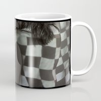 flag Mugs featuring Flag by nineteen68