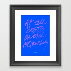 AT ALL COSTS 2 Framed Art Print