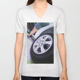 Chery Tiggo Wheel Unisex V-Neck