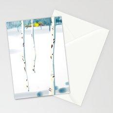 Betulle nella neve Stationery Cards