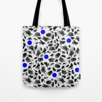blur Tote Bags featuring BLUR by HENRIPRINTS