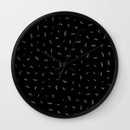 Hipster Pattern #1 Wall Clock