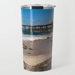 Catherine Hill Bay Pier Travel Mug
