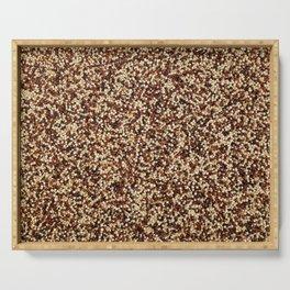 Mixed quinoa Serving Tray