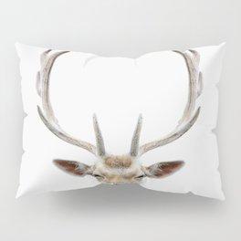 Deer Head Pillow Sham