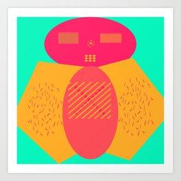 Moru Dachi Art Print
