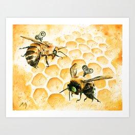 Just Like Honey Art Print