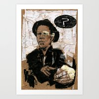 tom waits Art Prints featuring Tom Waits? by Andy Christofi