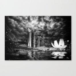 Marina bay sands Singapore Canvas Print