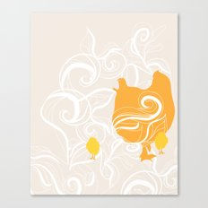 Chick poster Canvas Print