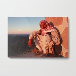 Mt Sinai At Sunset Metal Print