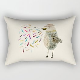 mr tweet Rectangular Pillow