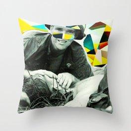 Last Breath Throw Pillow