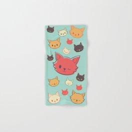 Kitty Wink Hand & Bath Towel