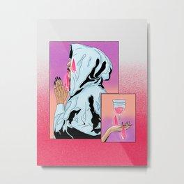 Menstruation (2.0) Metal Print