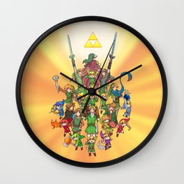 The Legend of Zelda 30th anniversary Wall Clock