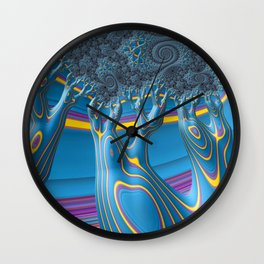 Evening Breezes Wall Clock