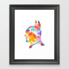 The Light Knight? Framed Art Print