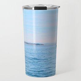 Blue Sailing Travel Mug