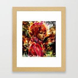 king of nothing Framed Art Print