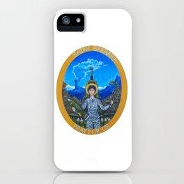 Saint Barbara iPhone Case