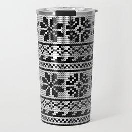 Pattern in Grandma Style #22 Travel Mug