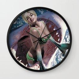 Pin Up Ocean Abyss Wall Clock