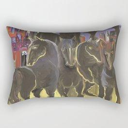 Jinetes Apocalipticos Rectangular Pillow