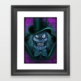 Happy Haunt by Topher Adam 2016 Framed Art Print