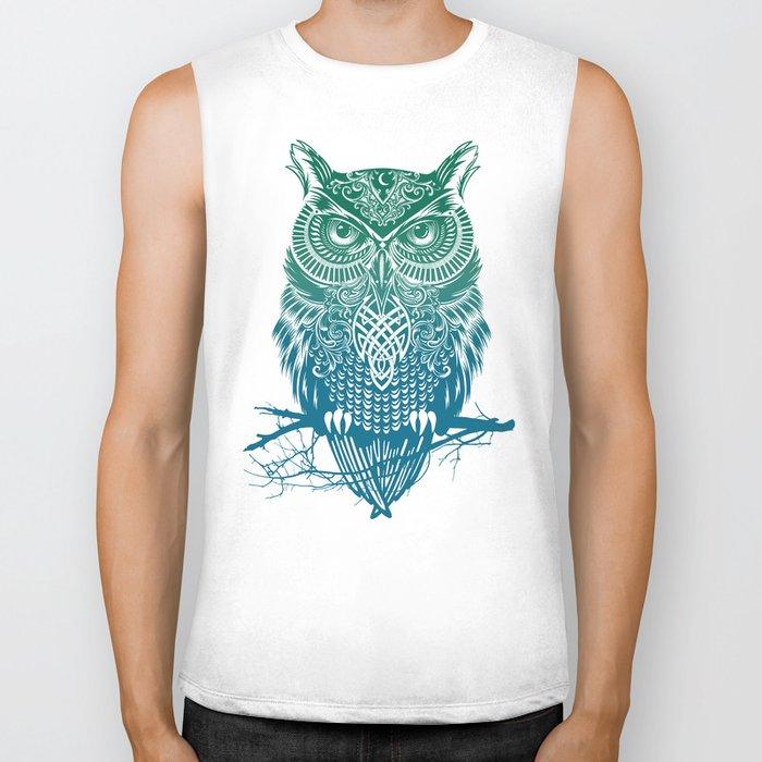 Warrior Owl Biker Tank