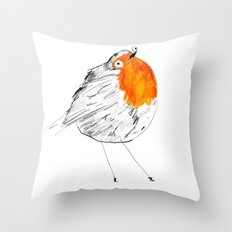 Hello Monday Throw Pillow