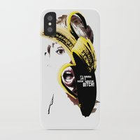 miley cyrus iPhone & iPod Cases featuring Miley Cyrus  by franziskooo