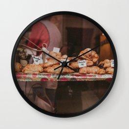 Croissant? Wall Clock