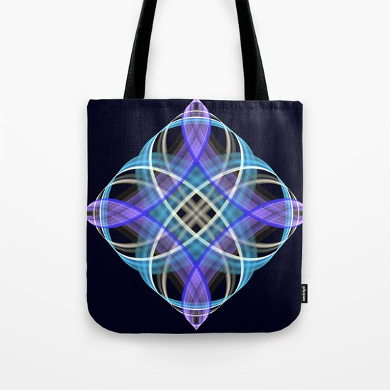 Four points geometric pattern design Tote Bag