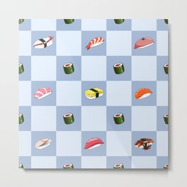 Sushi Time Metal Print