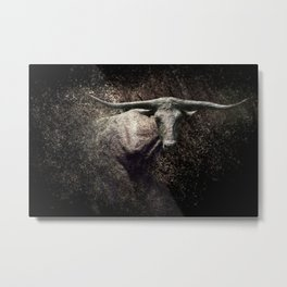 Of The Longhorn Metal Print