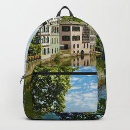 At the Canal de la Sarre Backpack