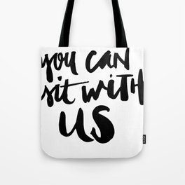 You Can Sit With Us - Bedlam Magazine Tote Bag