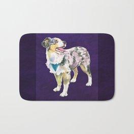 Toy Australian Shepherd Bath Mat