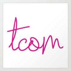 #TCOM Art Print