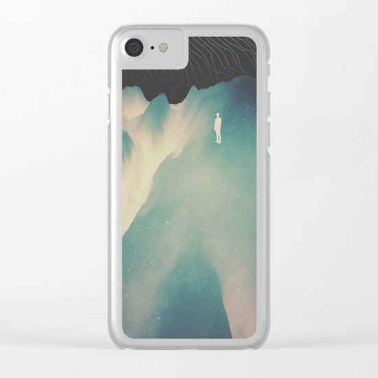 Falling Clear iPhone Case